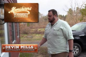 Devin Mills - Discovery Channel's Moonshiners: Whiskey Business