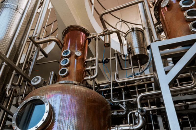 Copper & Stainless Distillery Equipment